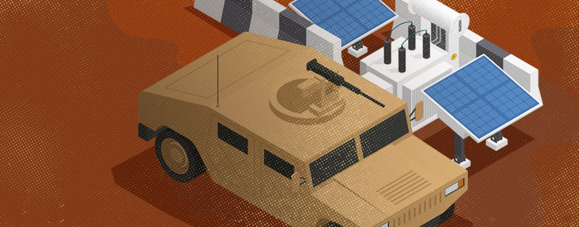 Military Looks to Renewables in Battle Zones