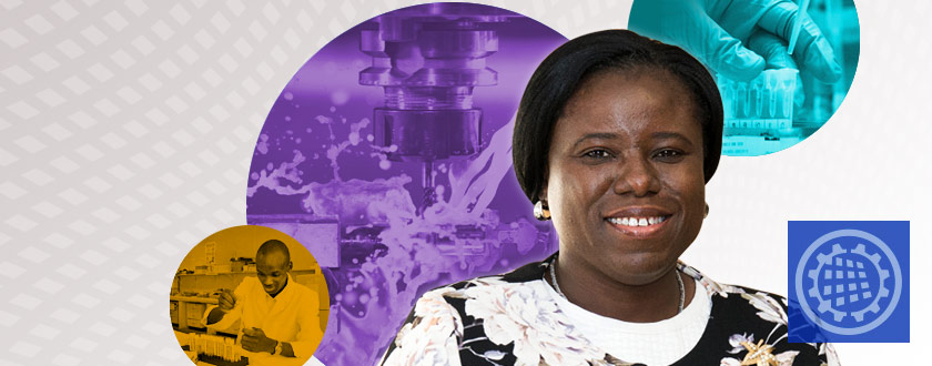 IMECE Education and Globalization Track Speaker Announced: Esther Akinlabi