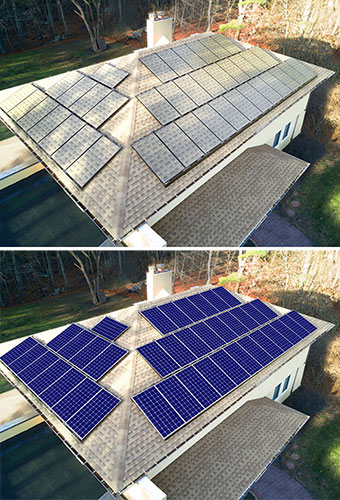 making solar panels more attractive