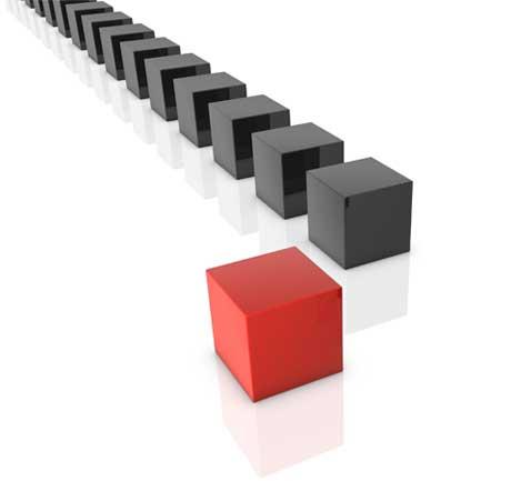 Blocks in a Row