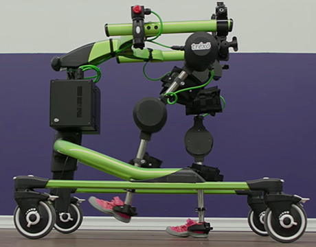 Trexo Features Adjustable Hip Width And Leg Length As Well As A Multiple Pads For Extra Comfort Image Trexo Robotics