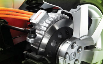 In Wheel Electric Motors Gain Traction Again Automotive Design