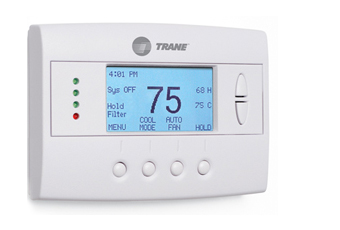air conditioning thermostat. the comfortlink thermostat allows customers to adjust home temperature remotely by computer or most web-enabled cell phones. air conditioning i