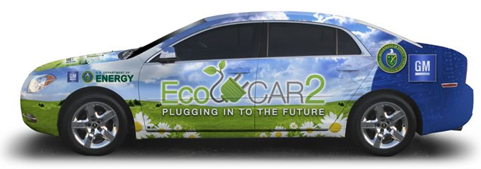 EcoCar2: Plugging into the Future - Student Competitions