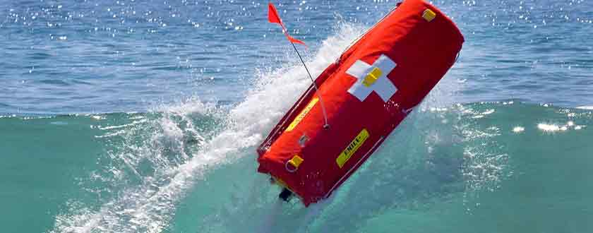 Robotic Lifeguard Changes Water Rescues