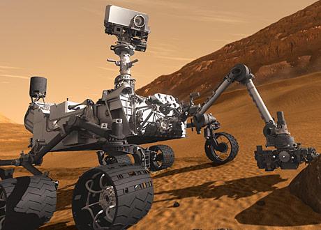 Curiosity Explores the Red Planet - Aerospace & Defense