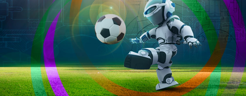 """Robot Football"" Is the Name of the Game for the 2018 Student Design Competition"