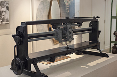 The Moench tufting apparatus, the device that brought mechanization and speed to carpet tufting, was designated as the 266th ASME Historic Mechanical ...