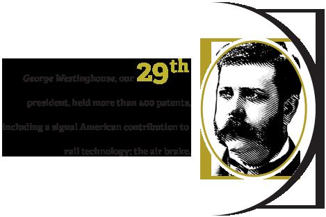 Twenty Ninth President George Westinghouse