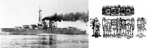 USS Texas' Reciprocating Steam Engines