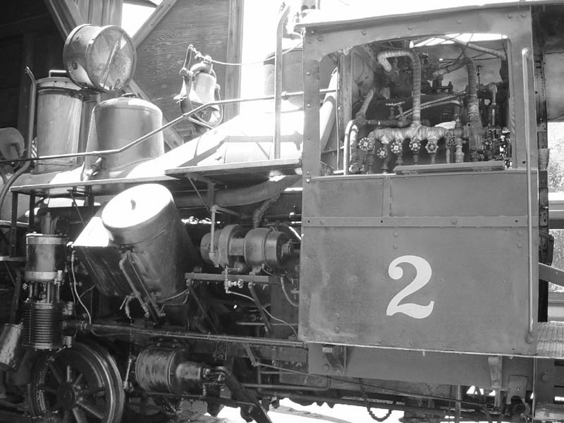 Geared Locomotives of Heisler, Shay, Climax