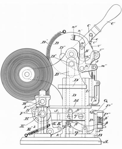 Pin-Ticketing Machine