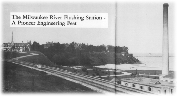 Milwaukee River Flushing Station