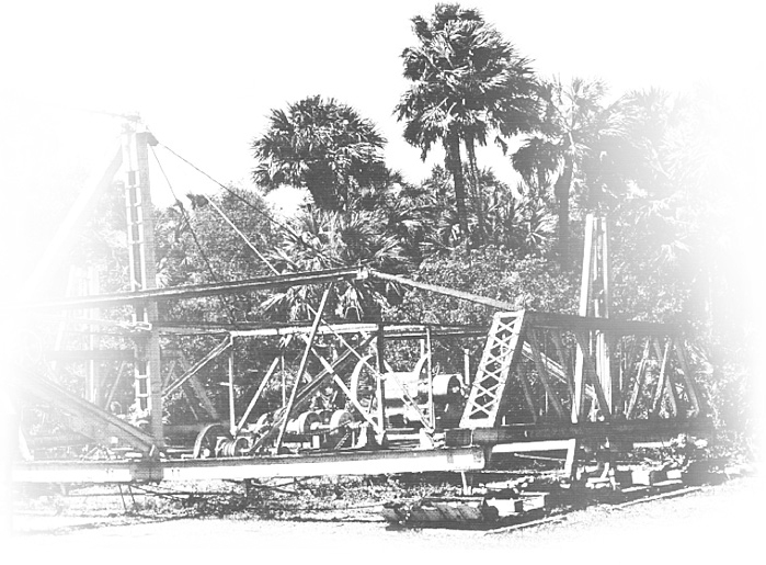 Bay City Walking Dredge