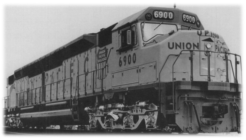 Union Pacific Big Boy 4023 & Centennial 6900