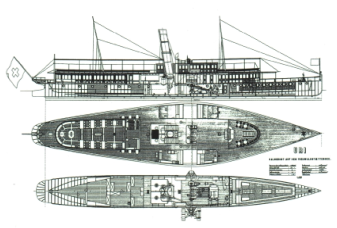 Paddle Steamer Uri