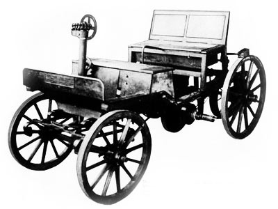 The world's first motor car