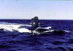 USS Albacore Then