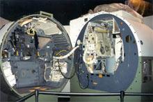 Inside the ascent module