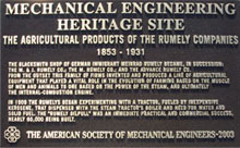 ASME plaque