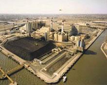 Eddystone Station aerial view