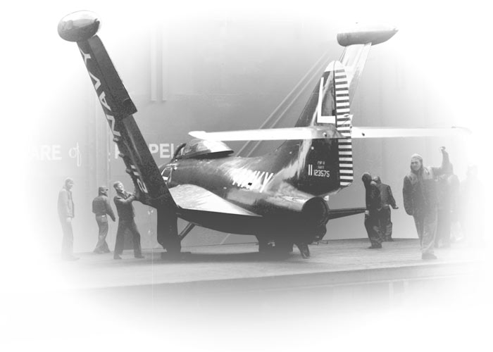 Grumman Wildcat Sto-Wing Wing-folding Mechanism