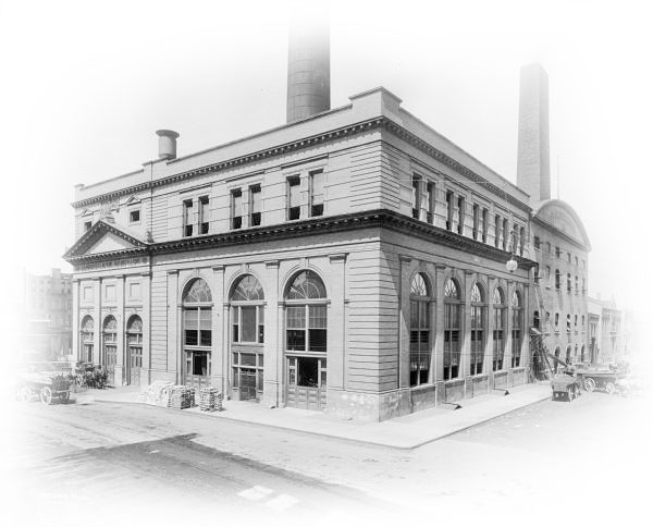 East Wells (Oneida) Street Power Plant Photo