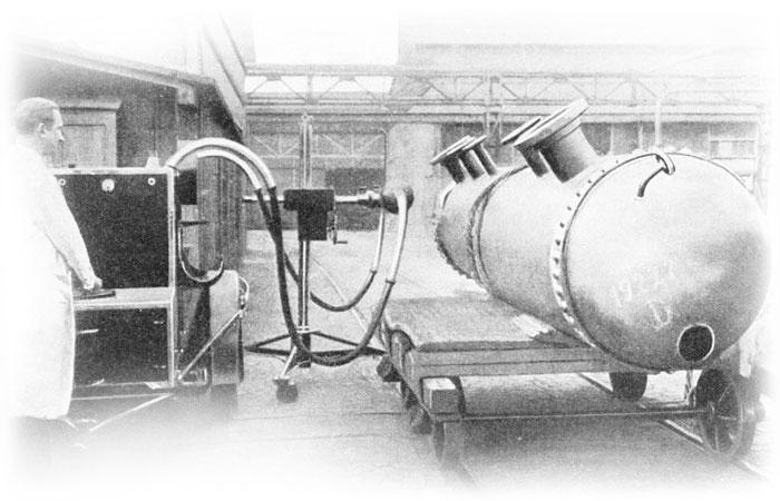 Fusion-welded Test Boiler Drum