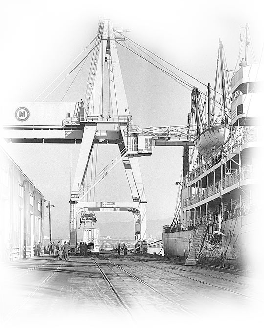 PACECO Container Crane
