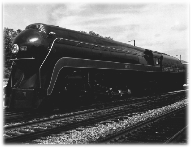 Norfolk & Western #611, Class J Steam Locomotive (1941)