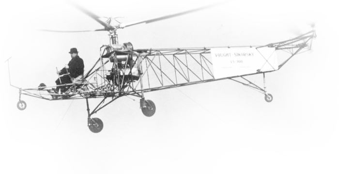 Sikorsky VS-300 Helicopter